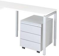 Aanbouwtafel serie 55 80X60cm hoogte instelbaar 62-86cm-2