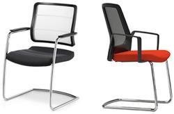 Bezoekersstoelen Interstuhl