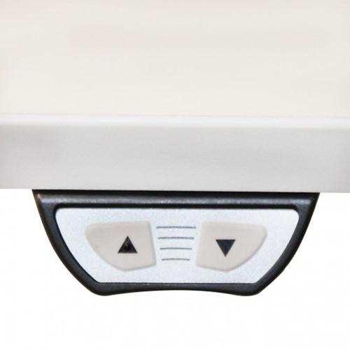 Zit-Sta elektrisch onderstel wit, breedteverstelling 120-180cm (hoogte 68-118cm zonder blad)-3