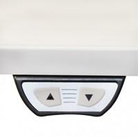 Zit-Sta elektrisch onderstel wit, breedteverstelling 120-180cm (hoogte 62-128cm zonder blad)-3