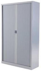 Roldeurkast budget 198X120X43cm inclusief vier legborden aluminium