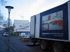 Ziekenhuis Amstelland afdeling GGD in Amstelveen.-104