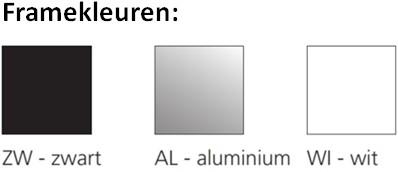 Roldeurkast budget 198X120X43cm inclusief vier legborden aluminium-3