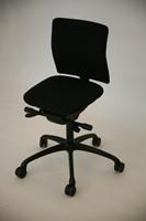 Bureaustoel NEW WAVE 2D met ergotop zwart