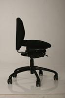Bureaustoel NEW WAVE 2D met ergotop zwart-3