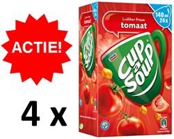 Cup-a-soup tomatensoep  4 dozen à 24 zakjes 140ml