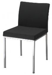 Bezoekersstoel serie 25 zwart