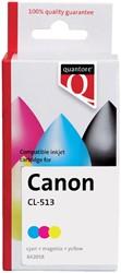 Inktcartridge Quantore Canon CL-513 kleur