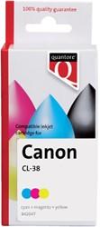 Inktcartridge Quantore Canon CL-38 kleur