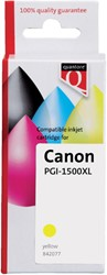 Inkcartridge Quantore Canon PG-1500XL geel HC