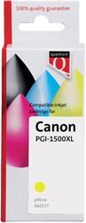 Inkcartridge Quantore Canon PGI-1500XL geel HC