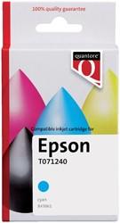 Inktcartridge Quantore Epson T071240 blauw