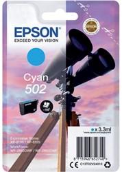 Inkcartridge Epson 502 T02V2 blauw