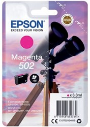 Inkcartridge Epson 502 T02V3 rood