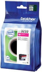 Inktcartridge Brother LC-3233 rood