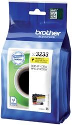 Inktcartridge Brother LC-3233 geel