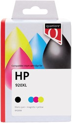 Inktcartridge Quantore HP CH081AE 920XL zwart + 3 kleuren