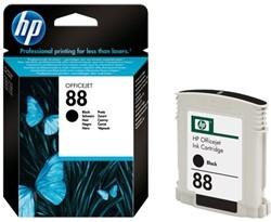 Inkcartridge HP C9385AE 88 zwart