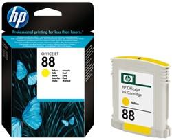 Inkcartridge HP C9388AE 88 geel