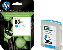 Inkcartridge HP C9391AE 88XL blauw HC