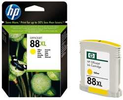Inkcartridge HP C9393AE 88XL geel HC