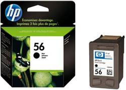Inkcartridge HP C6656AE 56 zwart