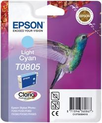 Inktcartridge Epson T0805 lichtblauw
