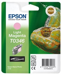Inkcartridge Epson T0346 lichtrood
