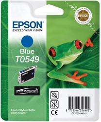 Inktcartridge Epson T0549 blauw