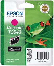 Inktcartridge Epson T0543 rood