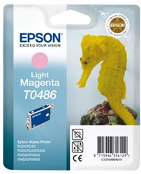 Inkcartridge Epson T0486 lichtrood