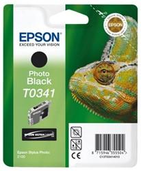 Inktcartridge Epson T0341 zwart