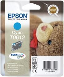 Inktcartridge Epson T0612 blauw