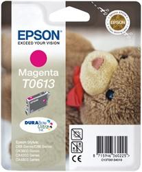 Inktcartridge Epson T0613 rood