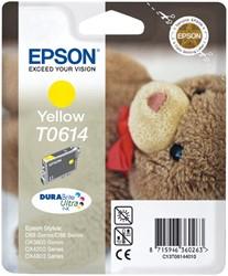 Inktcartridge Epson T0614 geel