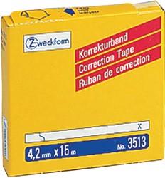 Correctietape Zweckform 3513 4.2mmx15m 1regel