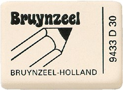 Gum Bruynzeel extra zacht wit display 30stuks