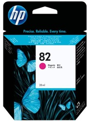 Inktcartridge HP CH567A 82 rood