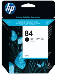 Inkcartridge HP C5016A 84 zwart