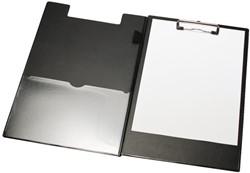 Klemmap LPC A4/Folio met 100mm klem + penlus zwart