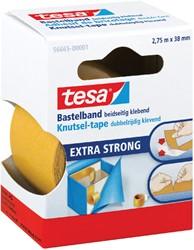 Dubbelzijdige plakband Tesa knutseltape 38mmx2.75m