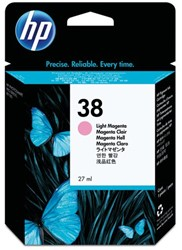 Inkcartridge HP C9419A 38 lichtrood