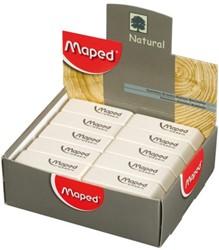 Gum Maped Dessin display à 40 stuks wit