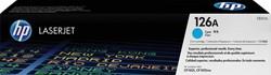 Tonercartridge HP CE311A 126A blauw