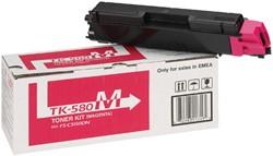 Toner Kyocera TK-580M rood