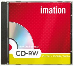 Rewritable cd's