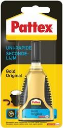Secondelijm Pattex Gold original tube 3gram op blister