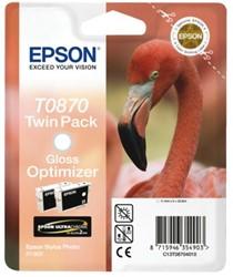 Inkcartridge Epson T0870 glossy optimizer