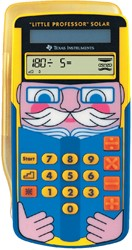 Rekenmachine TI little professor solar