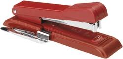 Nietmachine Bostitch B8+ontnieter 25vel STRC2115 rood